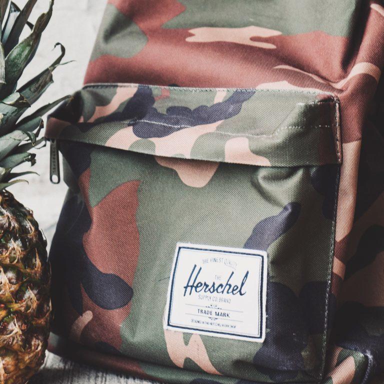 Stoer en on-trend: de camouflage print