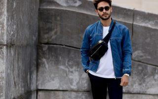 heren jeanshemd