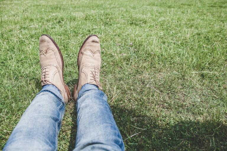 Suéde schoenen voor heren