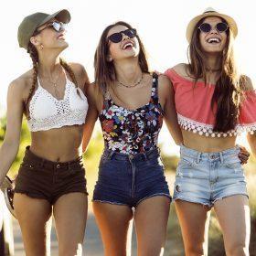 Dames korte broeken