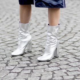 Metallic schoenen