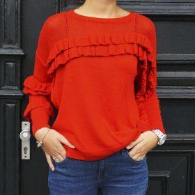 Een ode aan de rode trui voor dames