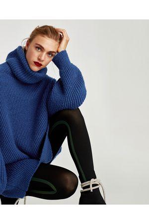 Zara LEGGING-MAILLOT MET STREEP OPZIJ - In meer kleuren beschikbaar