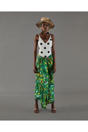 Zara PAREO MET AFRIKAANSE PRINT