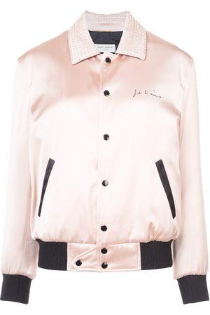 Saint Laurent Je T'aime teddy jacket