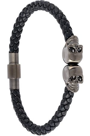 NORTHSKULL Braided skull bracelet