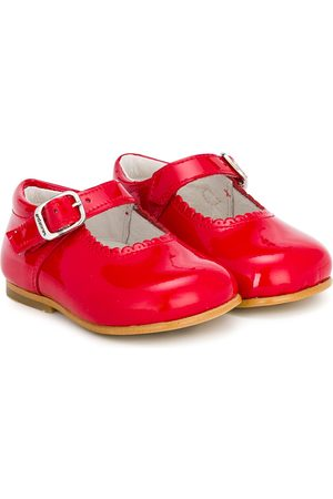 Andanines Scalloped trim ballerinas