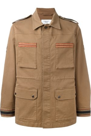Fashion Clinic Embroidered trim field jacket