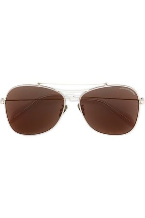 Alexander McQueen Piercing Shield sunglasses