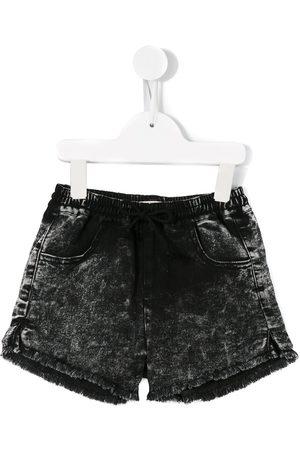 Le pandorine Raw edge mini shorts