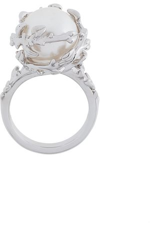 KASUN LONDON Fairytale pearl ring