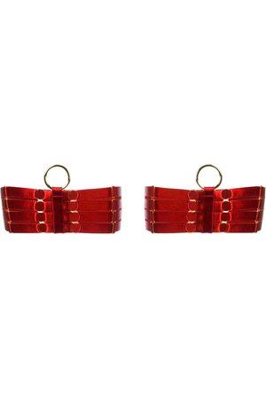 BORDELLE Metallic detail garters