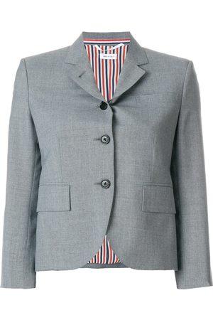 Thom Browne Classic Single Breasted Sport Coat In School Uniform Plain Weave