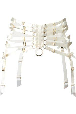 BORDELLE Webbed suspender belt