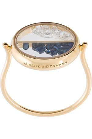 Aurélie Bidermann Chivor diamond and sapphire ring