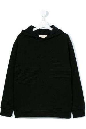 Le pandorine Textured hoodie