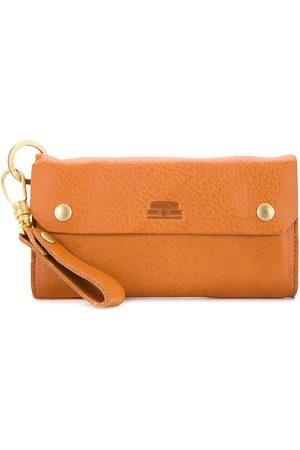 As2ov Heren Portemonnees - Oiled shrink long wallet