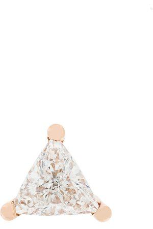 DELFINA DELETTREZ 18kt gold Dots Solitaire diamond earring