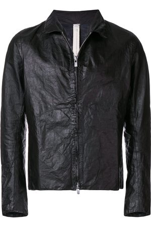 A DICIANNOVEVENTITRE Classic leather jacket
