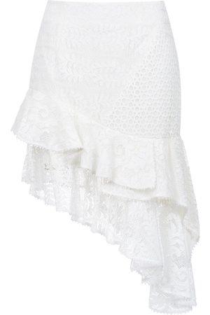 MARTHA MEDEIROS Dames Rokken - Lace asymmetric skirt