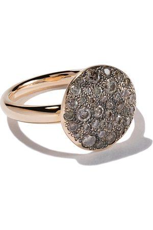 Pomellato 18kt rose gold Sabbia diamond ring