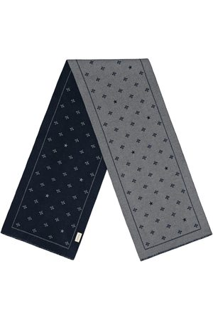 Gucci Heren Sjaals - Wool scarf with bees and stars