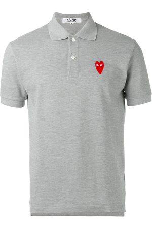 Comme des Garçons Elongated heart polo shirt