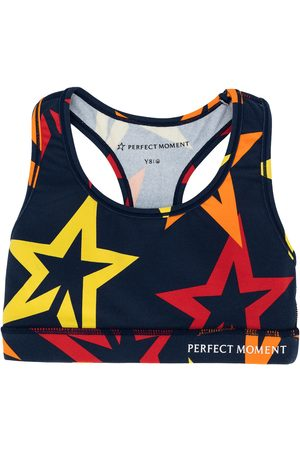 Perfect Moment Star print fitness top