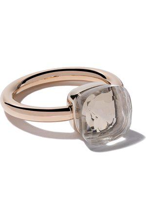 Pomellato 18kt rose & gold Nudo topaz ring