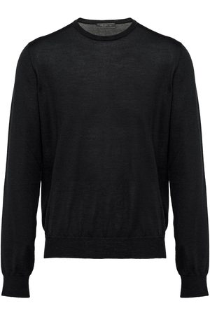 Prada Knitted crew neck sweater