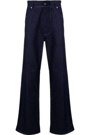 Missoni Contrast stitch wide-leg jeans