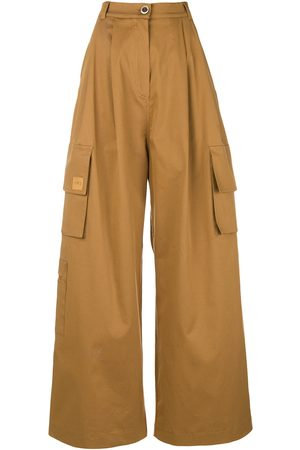 Natasha Zinko Wide-leg cargo trousers