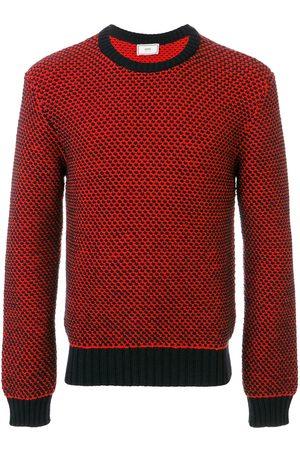 Ami Crewneck Birdseye Stitch Sweater