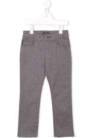 Emporio Armani Kids Stretch slim-fit jeans