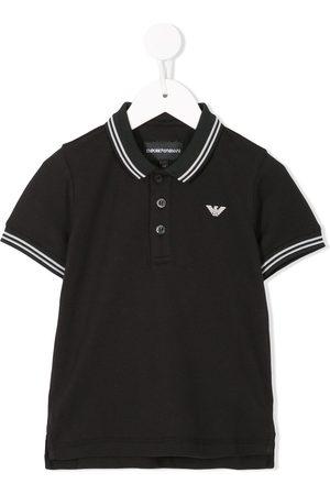 Emporio Armani Contrast-trim polo shirt