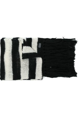 Saint Laurent Striped scarf