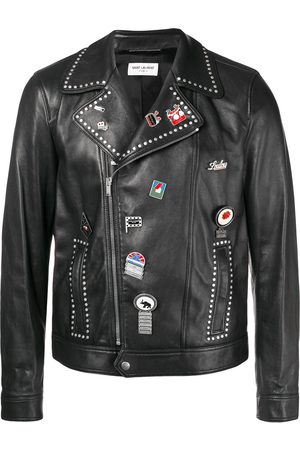 Saint Laurent Heren Donsjassen - Motorcycle leather jacket