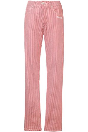 OFF-WHITE Striped jeans