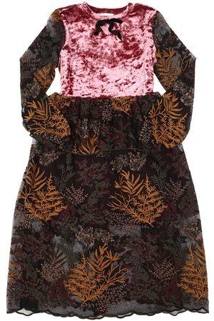 PAADE Meisjes Lange jurken - WENDY LACE & VELVET LONG DRESS