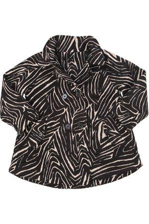 YELLOWSUB Woven Cotton & Lurex Coat