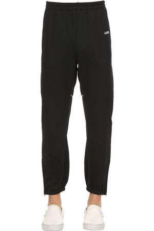 X-Large OVERSIZED TAPED COTTON TRACK PANTS