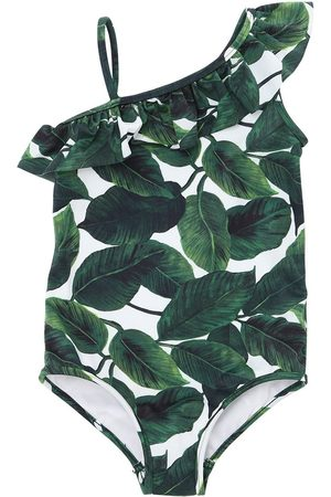 Milly LEAVES PRINT LYCRA ONE PIECE SWIMSUIT