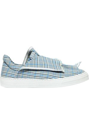 PORTS 1961 Dames Sneakers - 20MM LAYERED CHECK CANVAS SNEAKERS