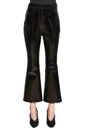 Ellery Dames Capri's - VINYL & NEOPRENE CROPPED PANTS