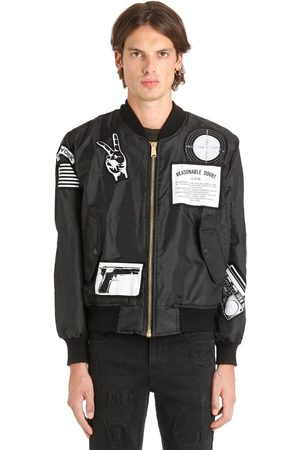 Bomberjacks - MADEWORN X JAY Z REASONABLE DOUBT NYLON BOMBER JACKET