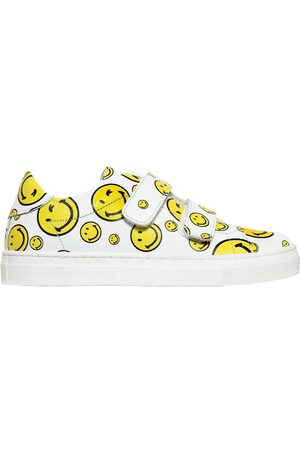 Meisjes Sneakers - Playful Promises SMILE NAPPA LEATHER STRAP SNEAKERS