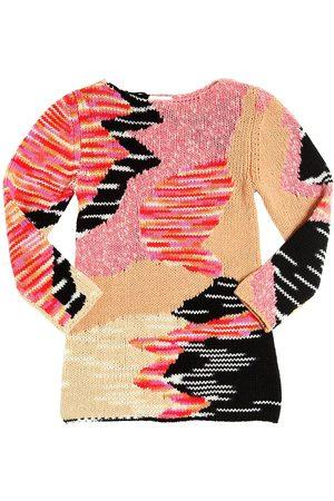 Missoni WOOL & CASHMERE TRICOT SWEATER DRESS