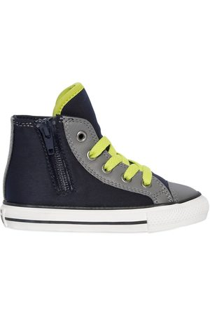 Converse NEOPRENE & LEATHER HIGH TOP SNEAKERS