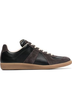 Maison Margiela Replica suede leather sneakers