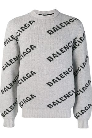 Balenciaga Logo crew neck sweater